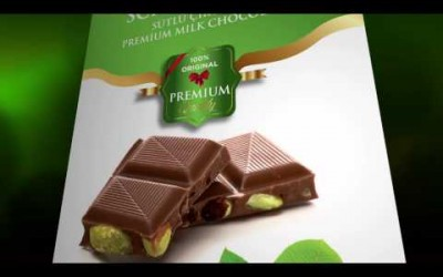Meray Chocolate Schokolade Cikolata (100% Premium) nuts inside